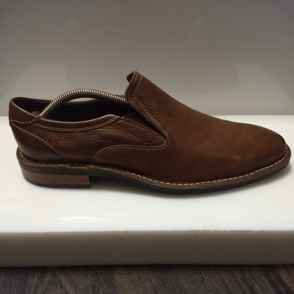 Cole Haan Other - Cole Haan Mens Brown Leather Slip On Loafers